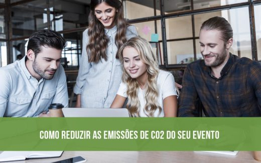 Como reduzir as emissões de CO2 do seu evento